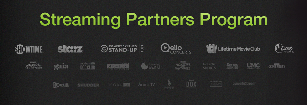 Amazon Video's Streaming Partners Program