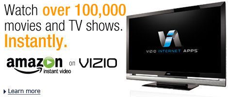 Amazon Video on Demand on Vizio