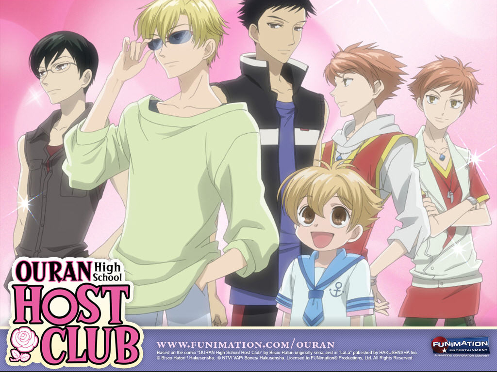 Wallpaper for Ouran High School Host Club (Click to download and save)