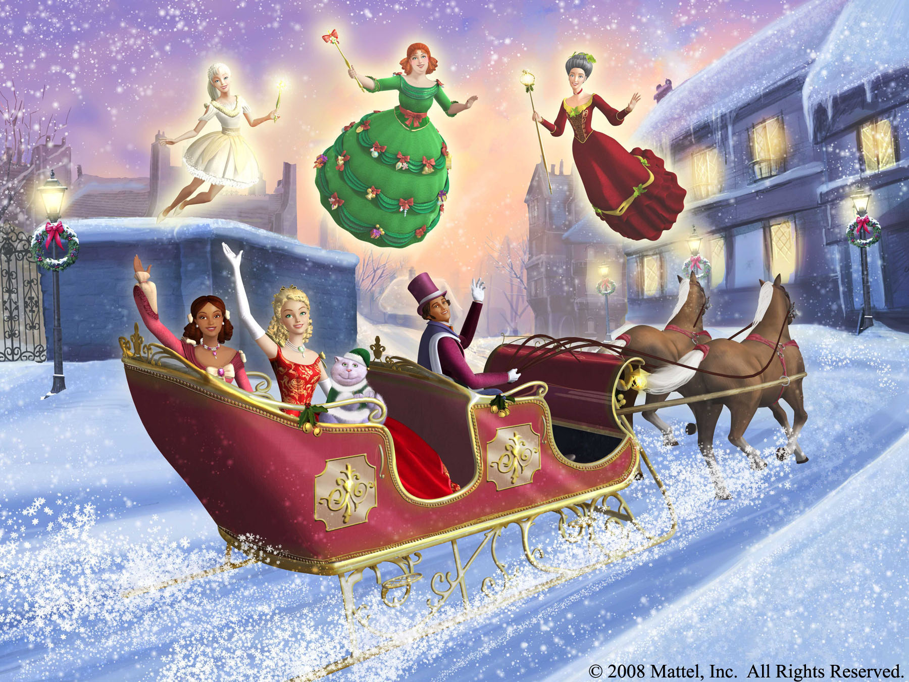 Barbie Christmas Carol Cartoon