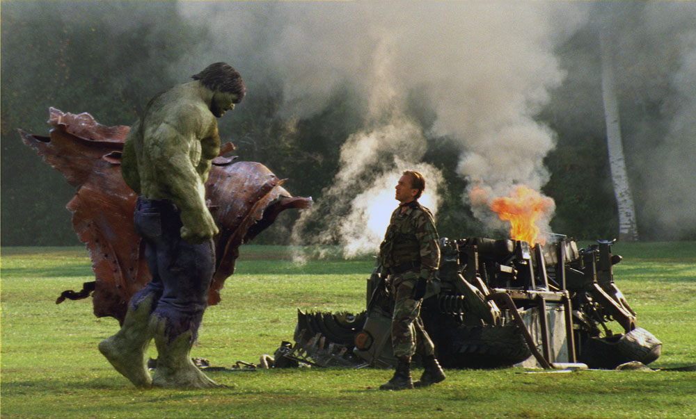 Incredible Hulk Stills From The Click For Larger