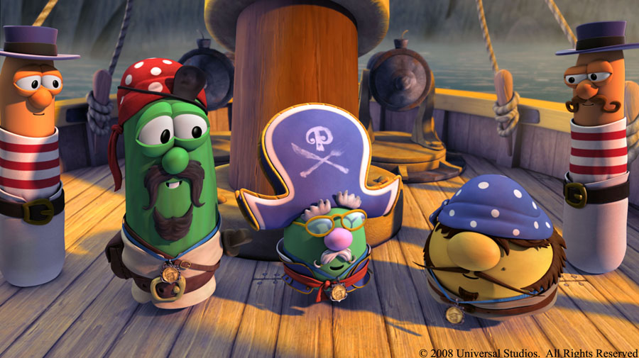 Amazon.com: Pirates Who Don't Do Anything: A Veggie Tales Movie