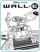 disney wall e coloring pages - photo#19