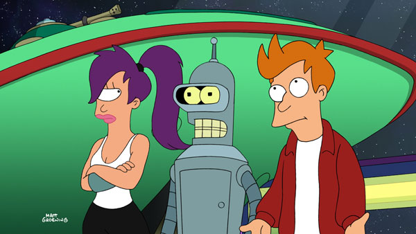 Stills from Futurama: Bender's Game (Click for larger image)