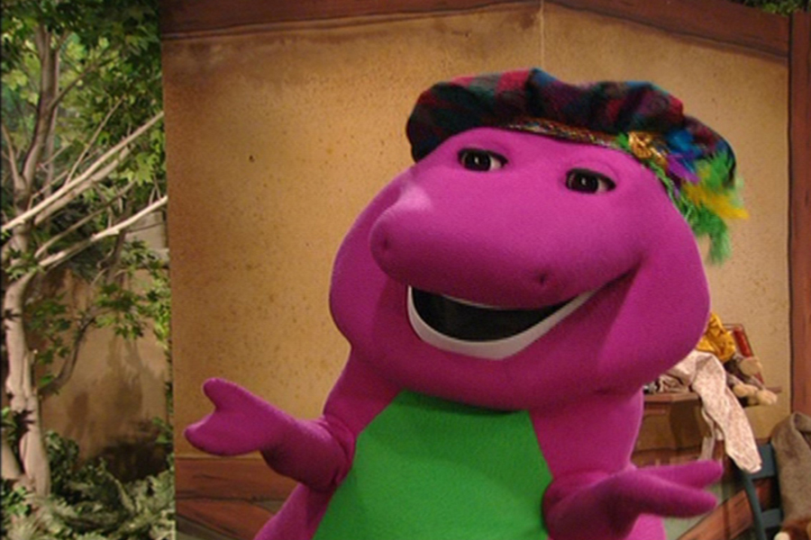 barney once upon a dino tale brian mack movies tv