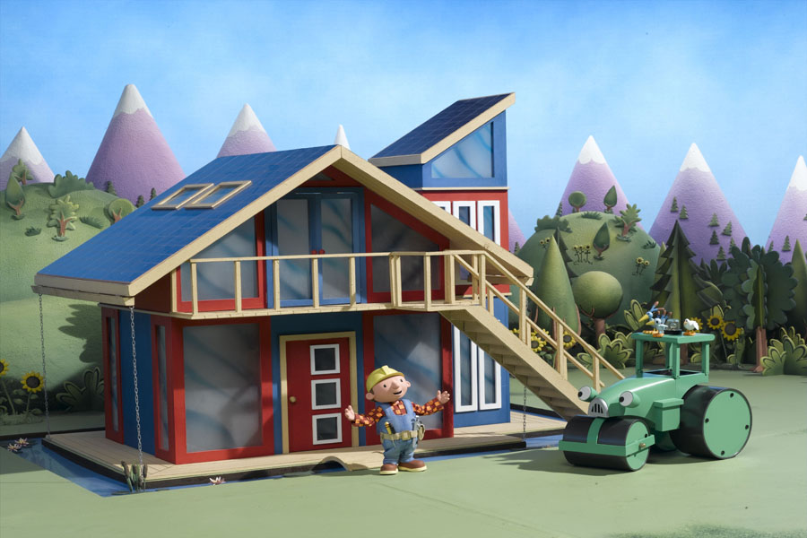Bob The Builder On Site Houses