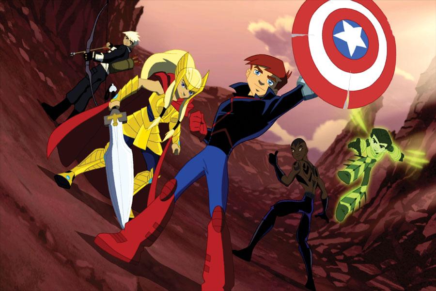 Amazon.com: Next Avengers: Heroes of Tomorrow: Noah Crawford, Brenna O