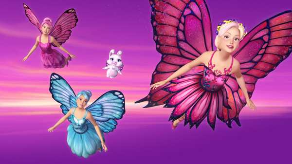 Barbie Mariposa Funny Cartoon