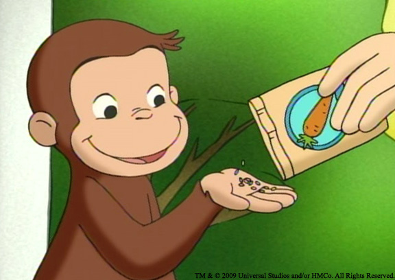 Amazon.com: Curious George Goes Green: Frank Welker, Jeff Bennett