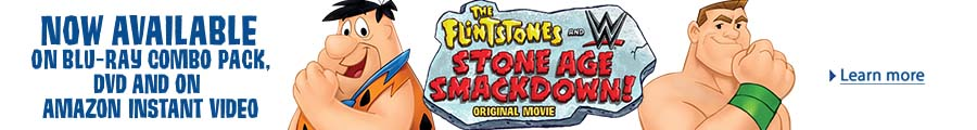 Flinstones and WWE Stone Age Smackdown Now Available on Blu-ray and DVD
