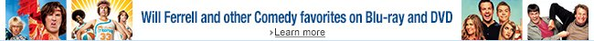 Save up to 47% on Comedies on Blu-ray and DVD