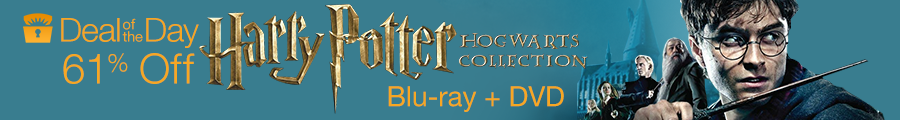 Deal of The Day: Harry Potter Hogwarts Collection (Blu-ray + DVD)