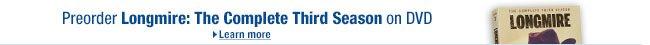 Pre-order Longmire: Season 3 on Blu-ray and DVD