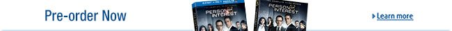 Person of Interest Season 3 Available for Pre-order