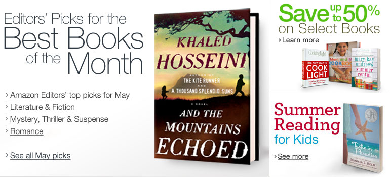 Amazon.com Books: Best Books of the Month