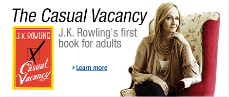 J.K. Rowling's first novel for adults, 'The Casual Vacancy': Now available to order