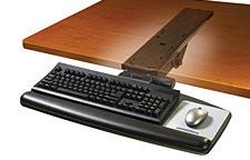 3M AKT90LE Easy-Adjust Keyboard Tray