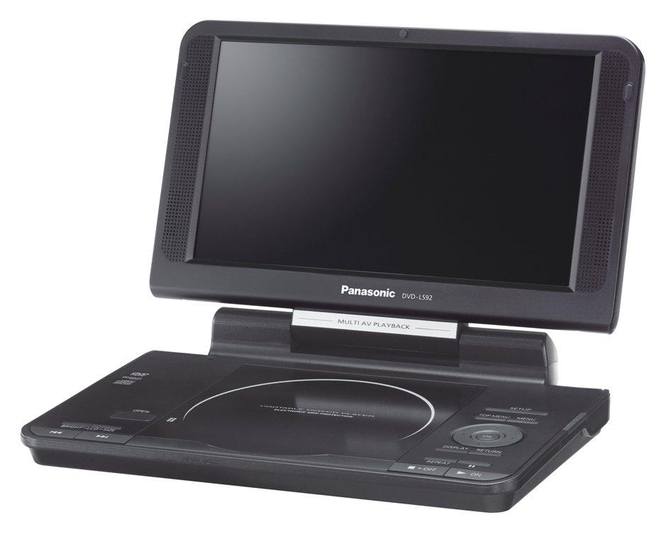 Đầu DVD di động Panasonic DVD-LS92 9-Inch Screen Portable DVD Player có tại e24h