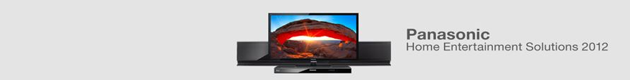 Panasonic TV Products 2012