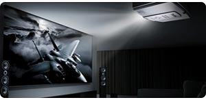BenQ W7000 300-Inches 1080p Cinema Quality Home Projection System