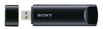 UWA BR100 Front Open upload. V165673681  Sony USB Wi Fi Adapter