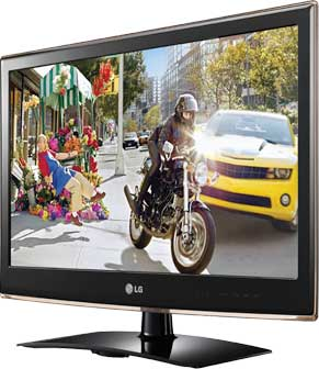 LV2500 3D 1080 LED TV