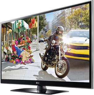 TV PZ550 LG 3D 1080P Plasma