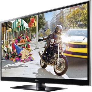 TV PZ550 LG 3D 1080P Plasma