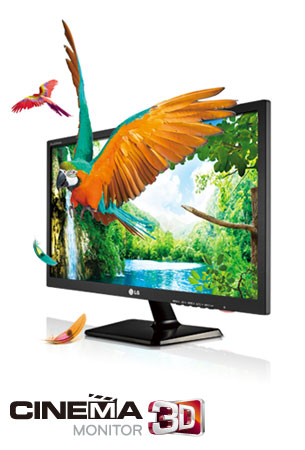 D2343P LG Cinema 3D LED Monitor