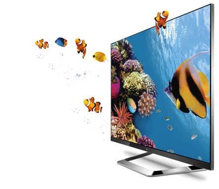 LM7600 3D TV