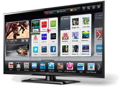 LW5600 3D 1080 LED TV