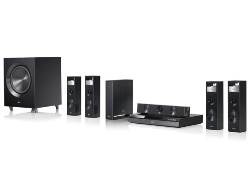 Lg Bh9220bw 1080w 3d Blu Ray Home Theater System With