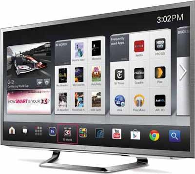 LG Google TV LMG620
