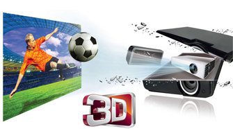 3D ready LG LED projector