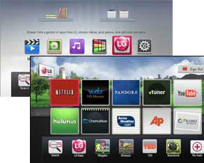 Unlimited Entertainment with LG Smart TV Access