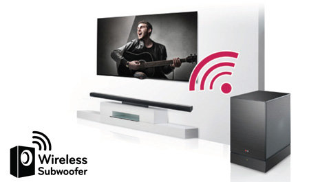 LG Electronics NB3530A Sound Bar System (2014 Model)