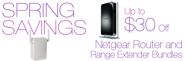 Netgear ReadyNAS Bundle Offers