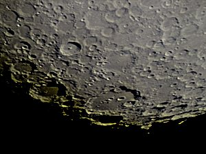 Crater Clavius shot with a Neximage camera, 280X
