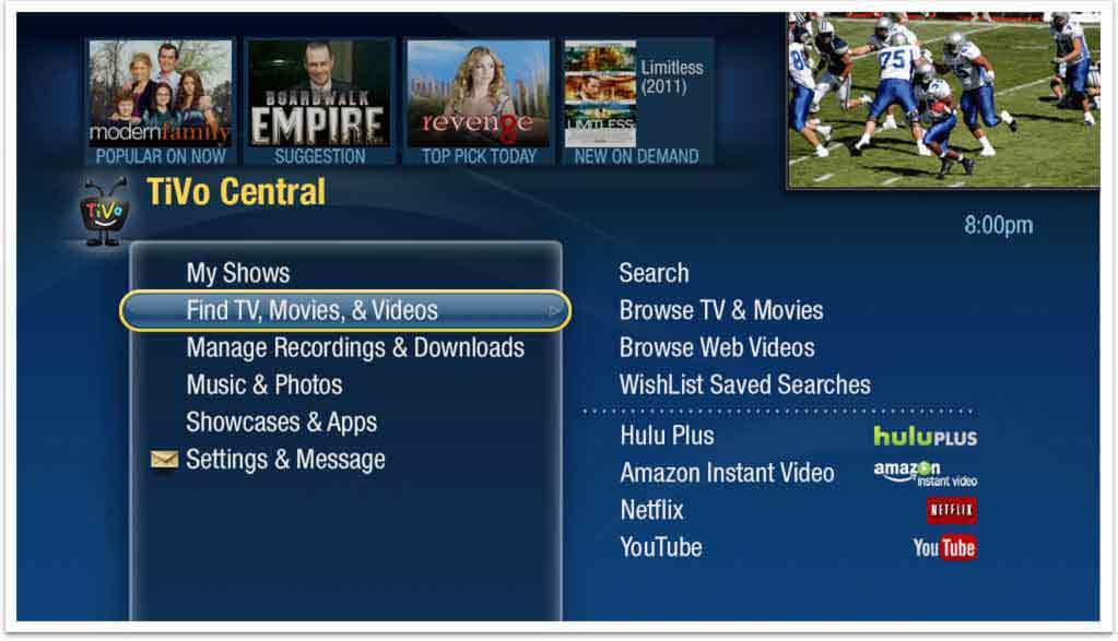 TiVo Central