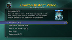 TiVo UI: Amazon Instant Video