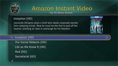 TiVo UI: Amazon Instant Video