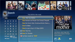 TiVo UI: Search