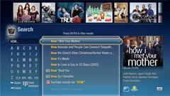 TiVo UI: Search