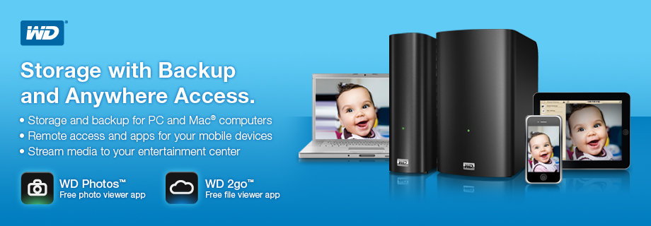 WD Network-Attached Storage