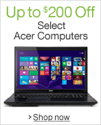 Up to $200 Off Select Acer Computers