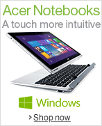 Acer Notebooks--A Touch More Intuitive