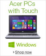 Acer PCs with Touch