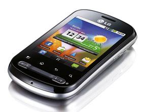 LG P350 Volle Funktionalität in handlichem Format