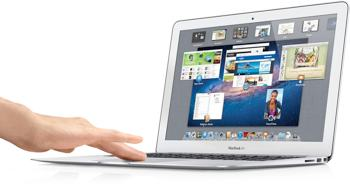 apple 12q2 macbook air 13 hand sm Apple MacBook Air MD231LL/A 13.3 Inch Laptop (NEWEST VERSION)