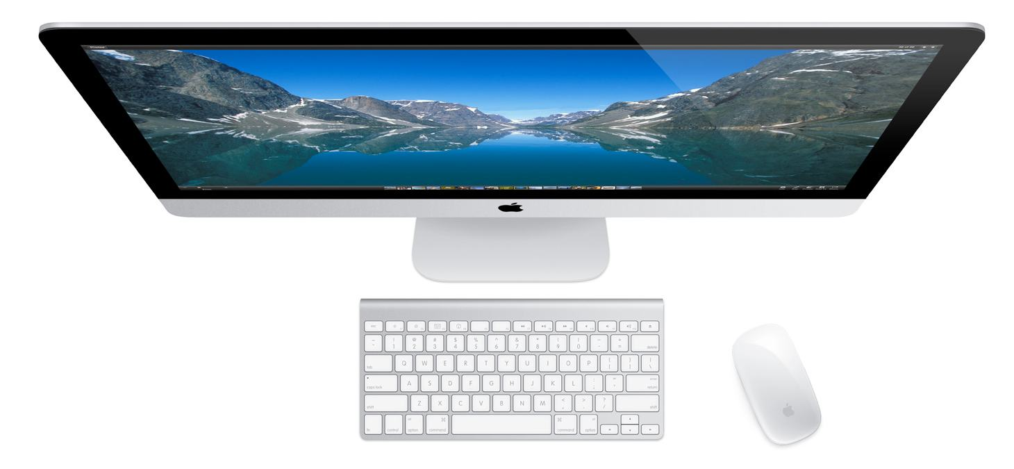 Apple imac md095ll a 27 inch desktop old version desktop computers computers - Computer desk for imac inch ...